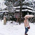 高山、雪の大晦日