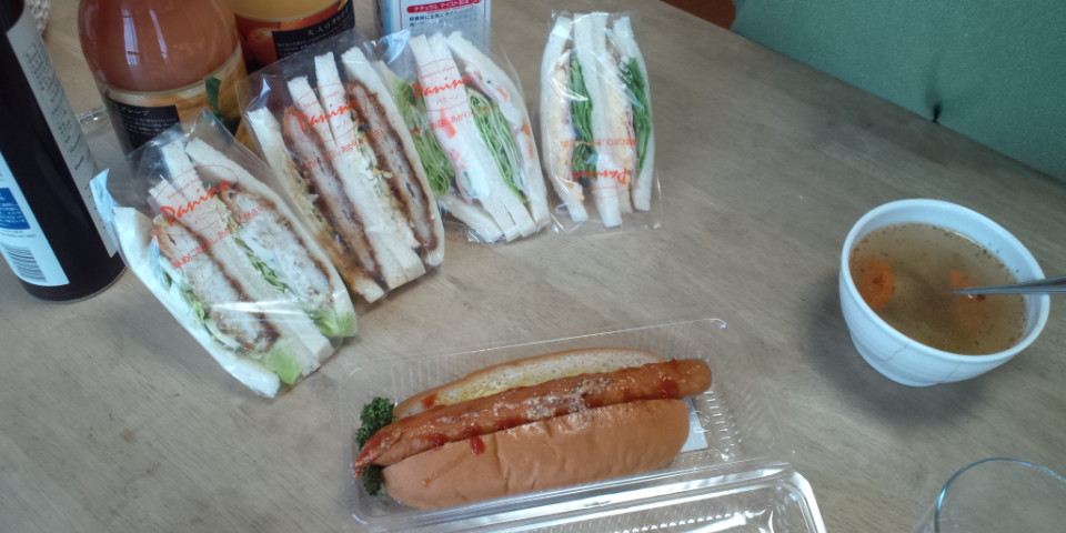 パニーノというサンドイッチ屋さんが一宮駅近くにできて